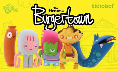 The Heroes of Burgertown