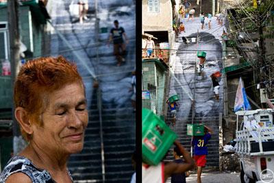 JR en las favelas de Rio de Janeiro