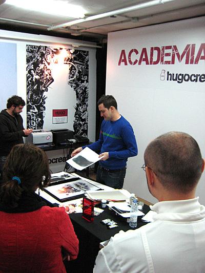Hugo Create, masterclass de Superexpresso