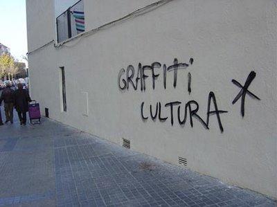 Alcorcón limpio graffiti
