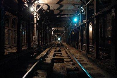 tunel del metro de NY