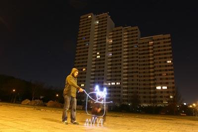 Jugando con luces