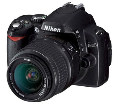 Nikon D40 con Objetivo 18-55mm