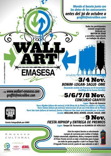 Concurso de graffiti wall art