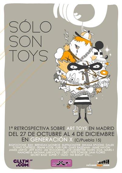 1ª Retrospectiva sobre Art Toys en Madrid