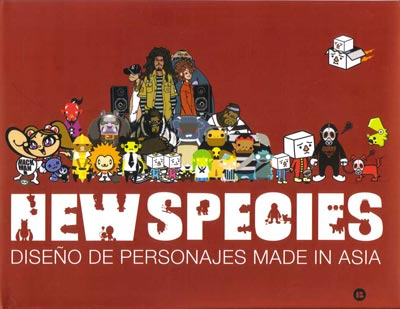 New Species: Diseño de personajes made in Asia
