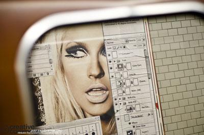 Photoshop en el metro de Berlin