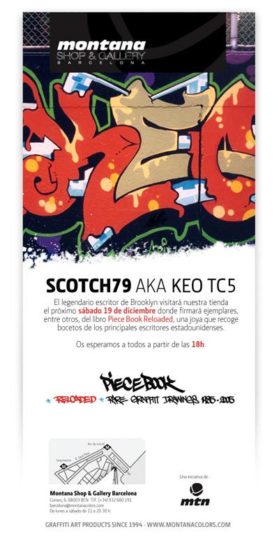 Scotch79 aka Keo TC5 en montana Shop & Gallery Barcelona